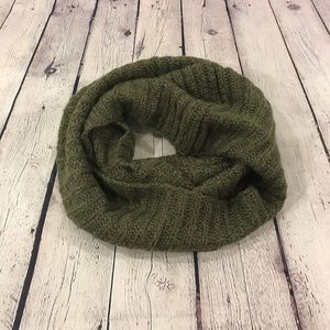 Old Navy Infinity Cowl Neck Scarf Olive Green